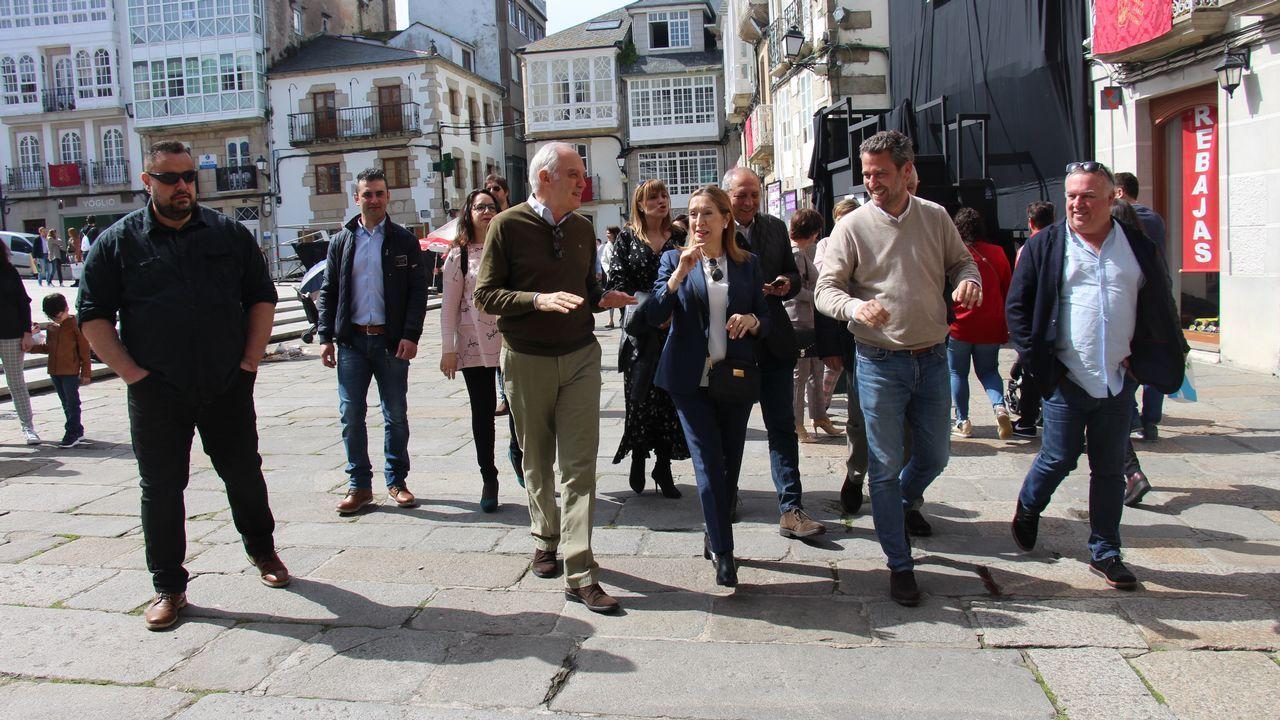 A la izquierda, Valentín Mera, el edil que tomó posesión en el último pleno del mandato; y a la derecha, Celestino García, el popular que deja la corporación local después de veinte años