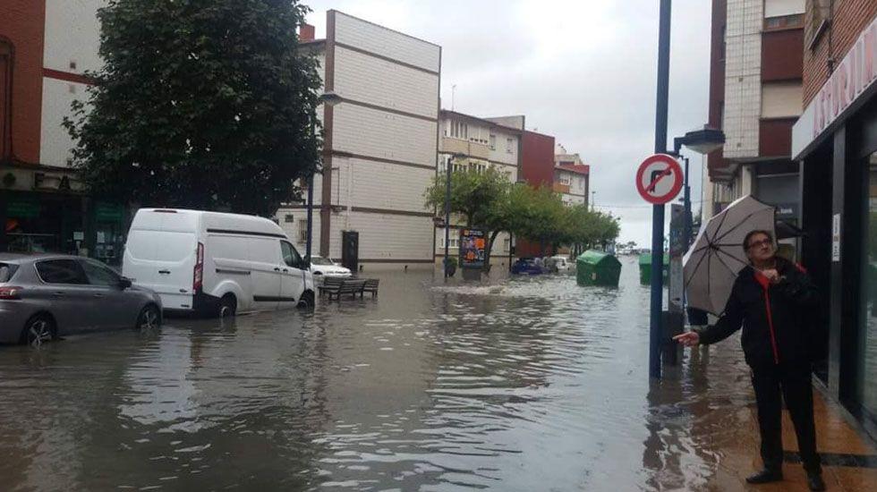 .Inundaciones en La Calzada