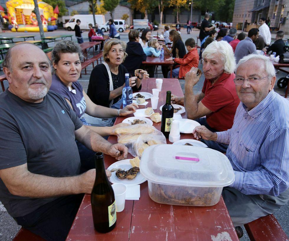 La Festa do Codorniz continúa hoy en Cortiñas.