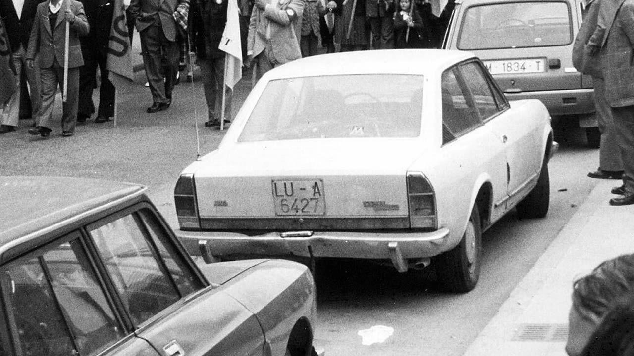 1978 | Berlina familiar de cuatro puertas: 314.000 pesetas (1.887 euros)