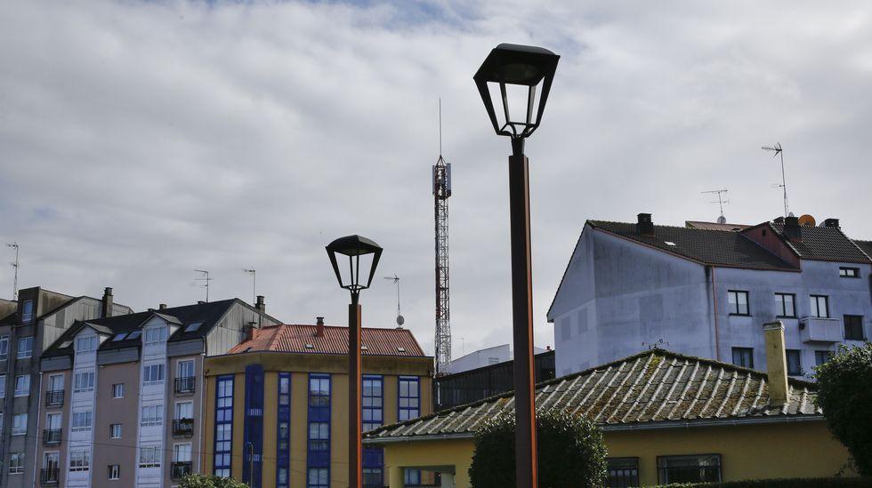 .Antena de telefónia movil en Rúa Visitación Encina s/n O Burgo, Culleredo