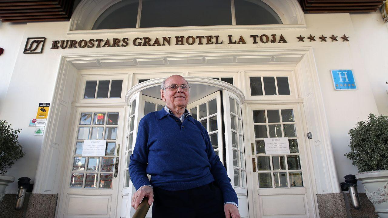 «A Toxa era ideal para esta reunión».