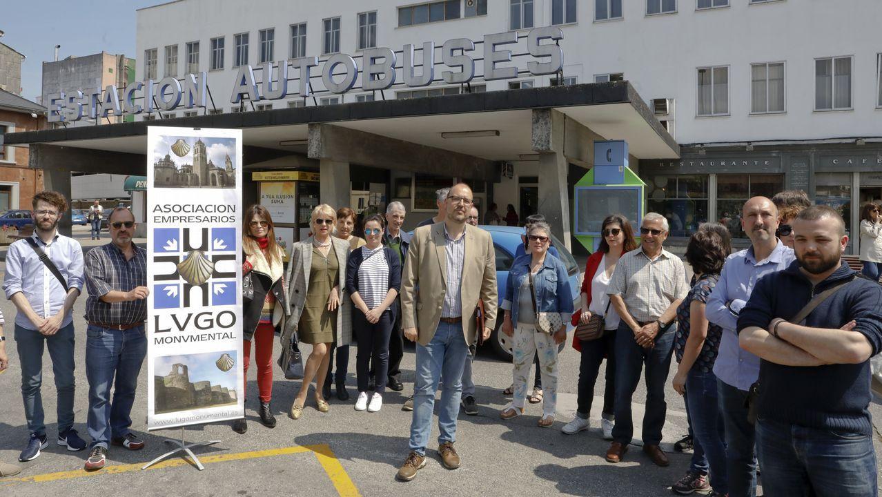 Campaña para salvar la estación de bus.