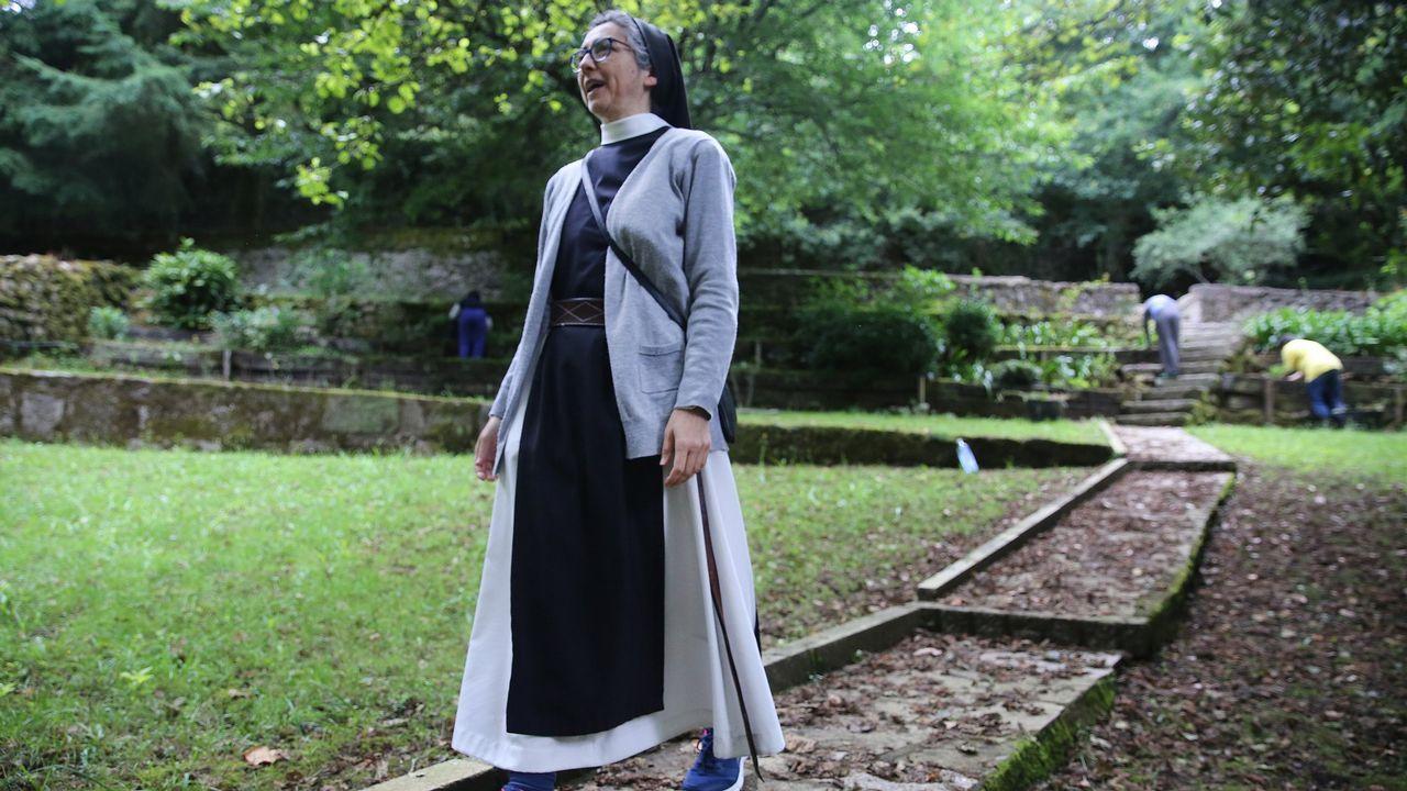 El monasterio de Armenteira organiza una jornada monástica