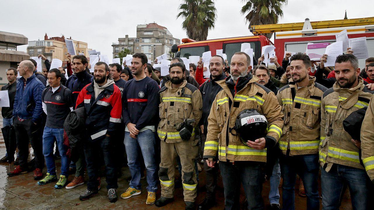 Comité Federal del PSOE.La zona se encuentra tal y como quedó el pasado 12 de agosto