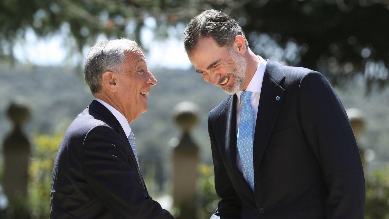 Un premio para unir a dos países hermanos.Santiago Rey Fernández-Latorre, durante su discurso