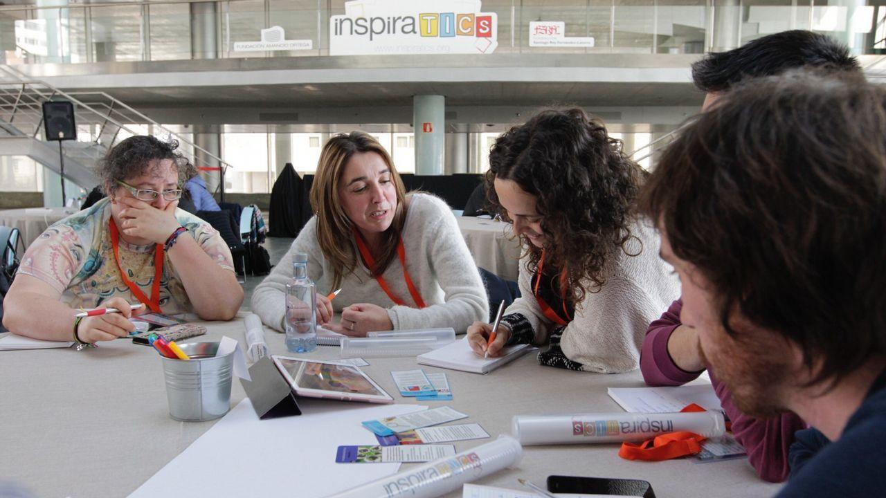 Las nuevas técnicas de paisajes de aprendizaje despertaron el interés entre los doscientos profesores de Galicia que participaron en el encuentro celebrado en esta ocasión en Vigo