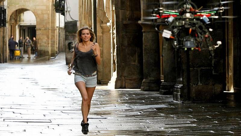 Así se grabó el videoclip de Enrique Iglesias en Santiago.