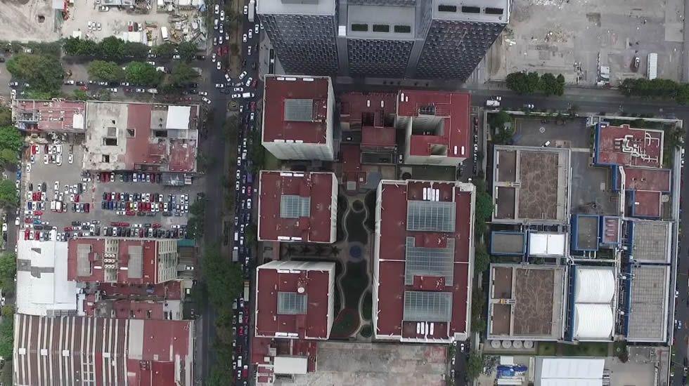 México a vista de dron