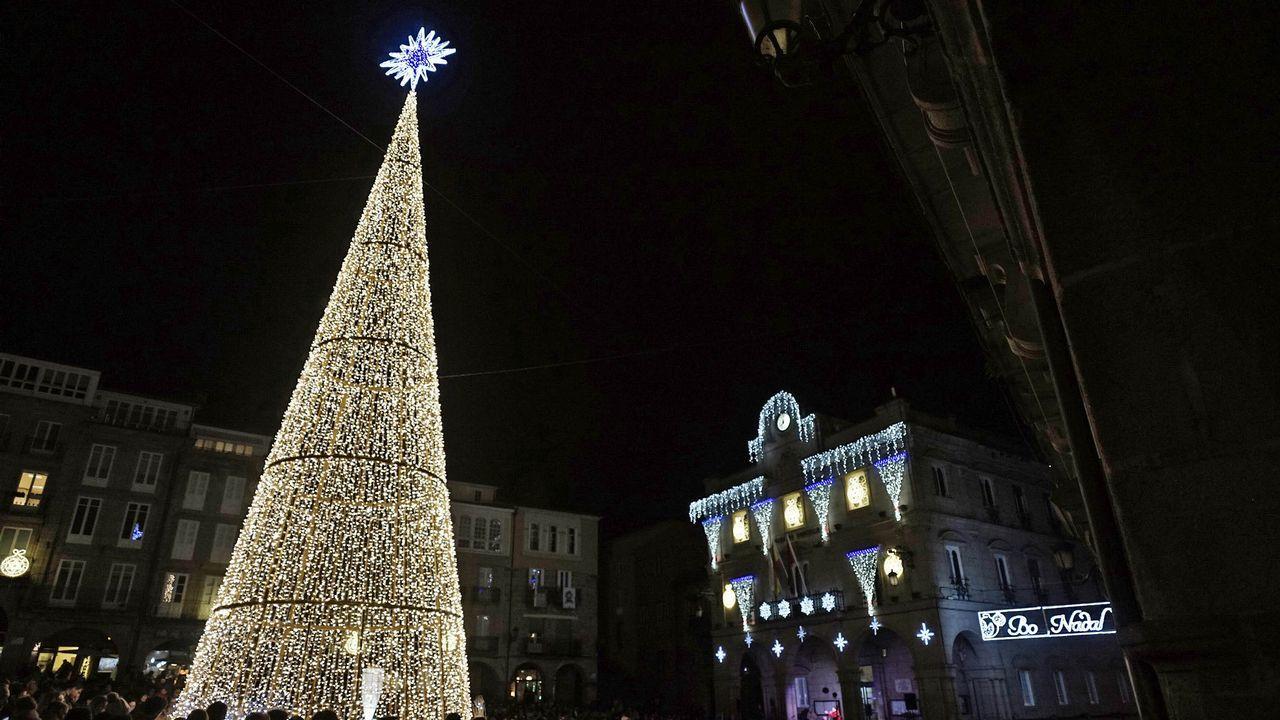 Ourense luce su Navidad