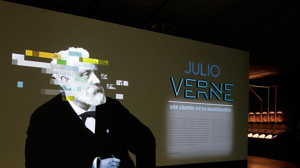 «Julio Verne: los límites de la imaginación», en el Centro Niemeyer.Pequeño crustaceo marino, krill, que habita en las aguas de la Antartida