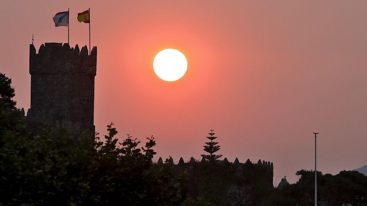 Castillo de Monterreal, Baiona. Ahí está el Parador de Turismo.