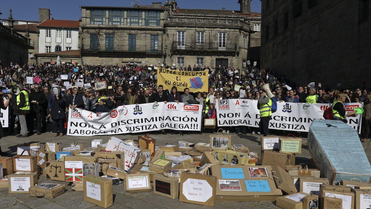 2.000 personas denuncian la «discriminación» en Xustiza