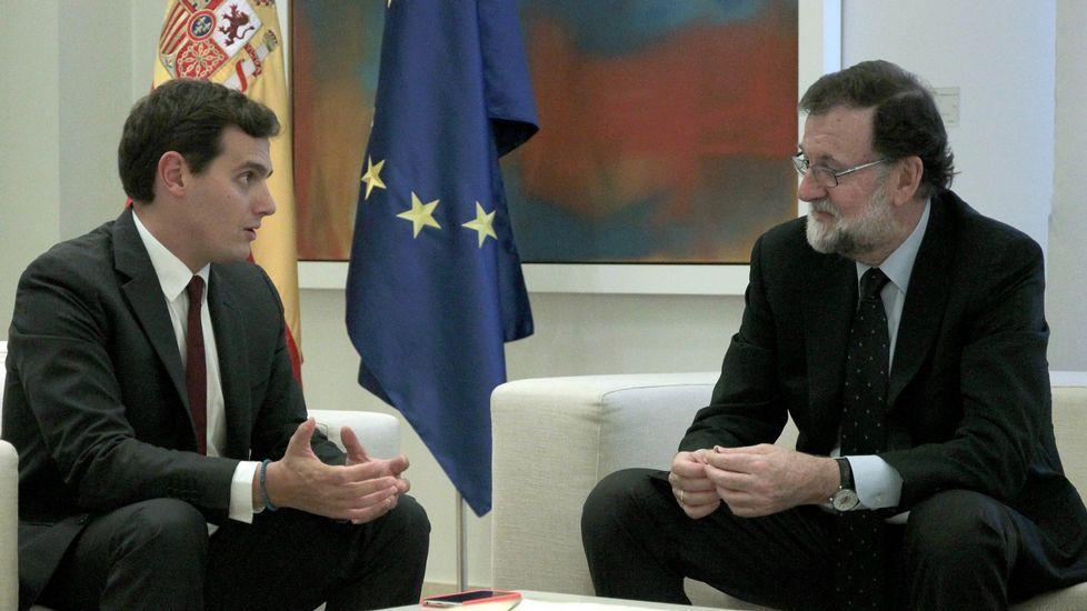Rivera y Rajoy, en una foto de archivo