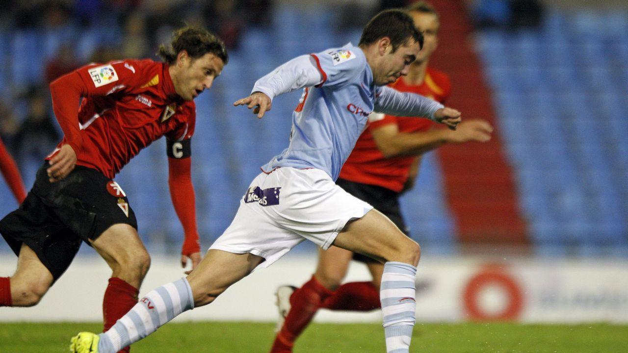 98 - Celta-Murcia (1-1) el 4 de febrero del 2012