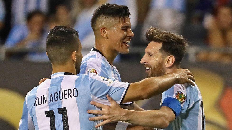 Messi, con la selección argentina