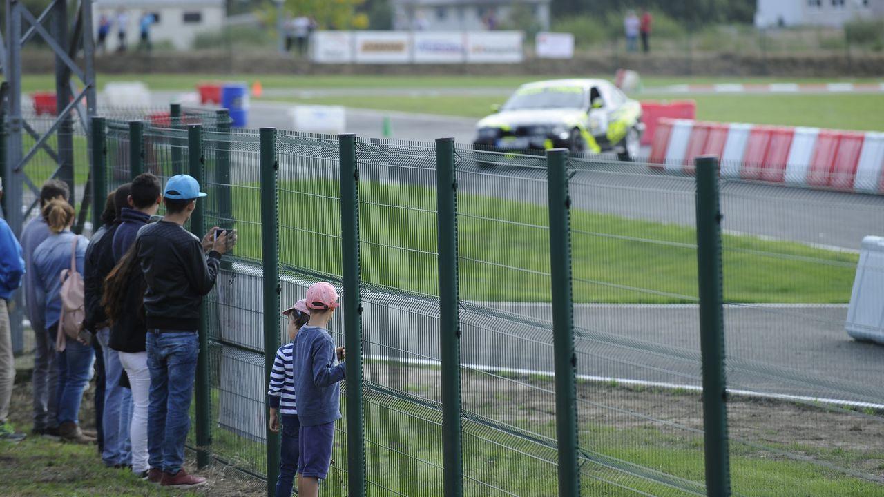 Las imágenes del estreno del circuito de As Pontes.