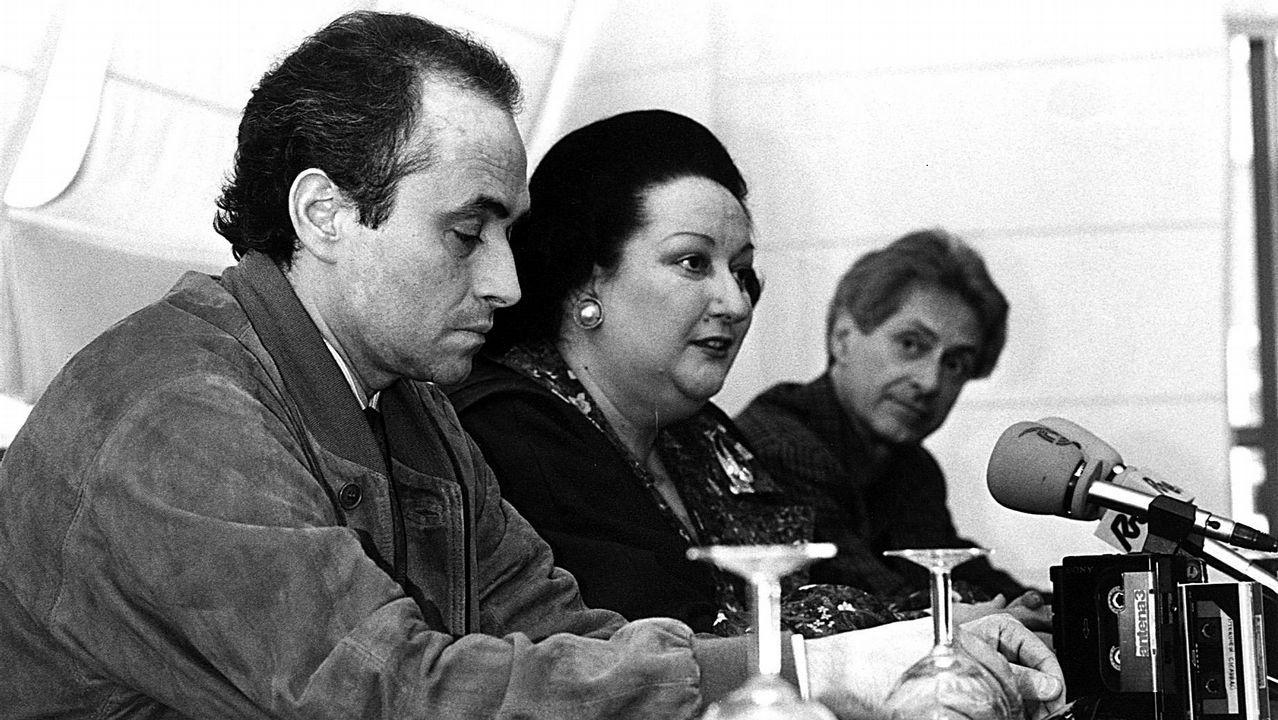Muere la cantante de ópera Montserrat Caballé.Monserrat Caballé falleció ayer a los 85 años, tras una vida dedicada a la música