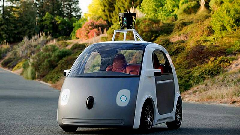 Así es el coche de Google