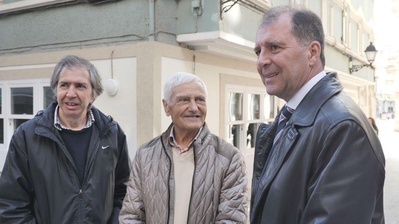 Reencuentro tras Mauthausen: «El morreu nos brazos de meu pai».IES Elviña