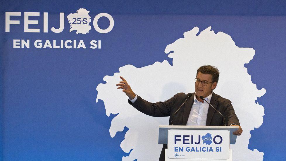 Feijoo: <span lang= gl >«Nas Mareas manda Pablo Iglesias. Punto»</span>.Anticorrupción pide siete años para el exvicepresidente de la Generalitat, Vicente Rambla (a la izquierda) y el secretario general del PP valenciano, Ricardo Costa, en la imagen en el Parlamento en el 2009.