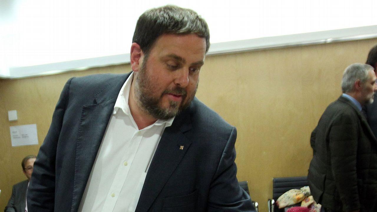 Centro penitenciario de Villabona.Oriol Junqueras. El ex vicepresidente catalán está acusado de un delito de rebelión agravado con malversación.