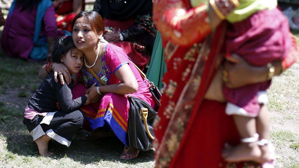 Susto en las calles de Katmandú.