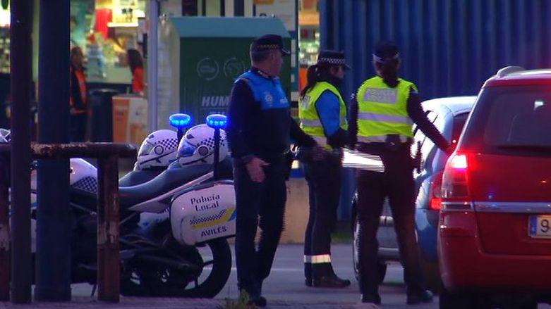 .Policía local de Avilés