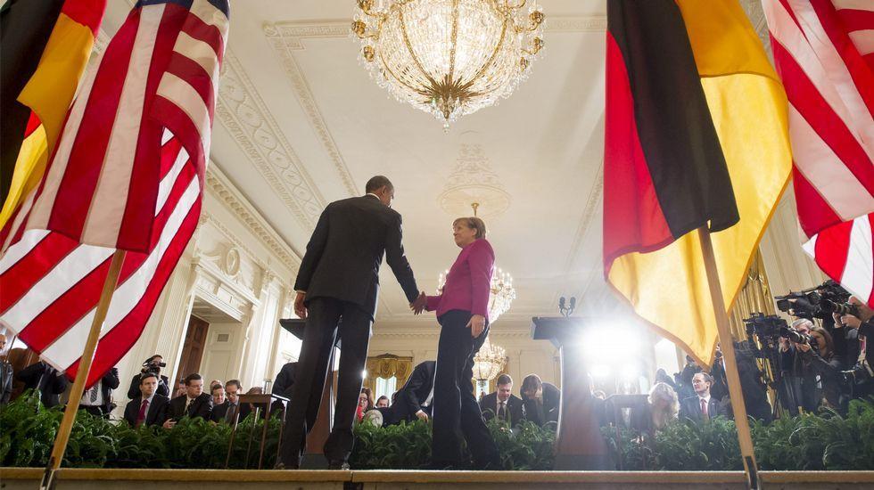 Merkel y Obama estuvieron de acuerdo de dar una oportunidad a la diplomacia.