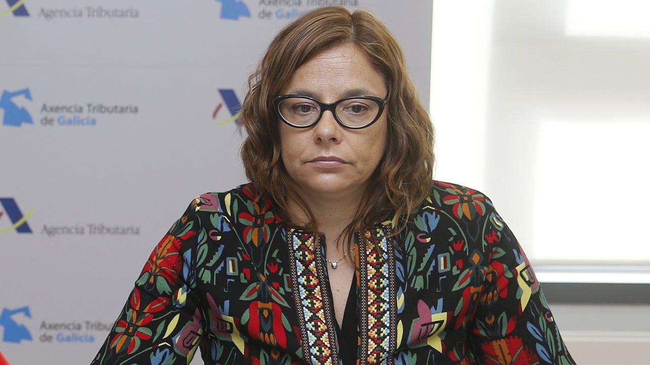 La directora de la Agencia Tributaria de Galicia, María Victoria González Vázquez