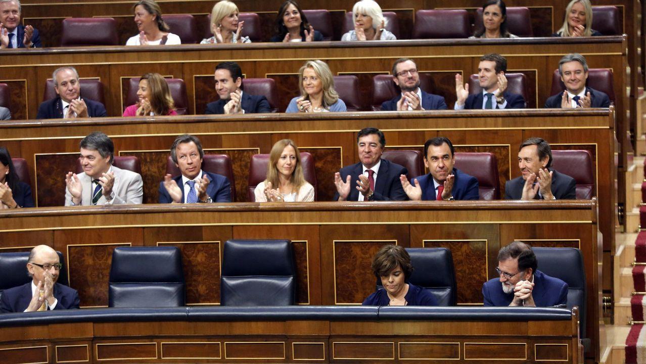 Bancada del PP en el Congreso de los Diputados, en una imagen de archivo