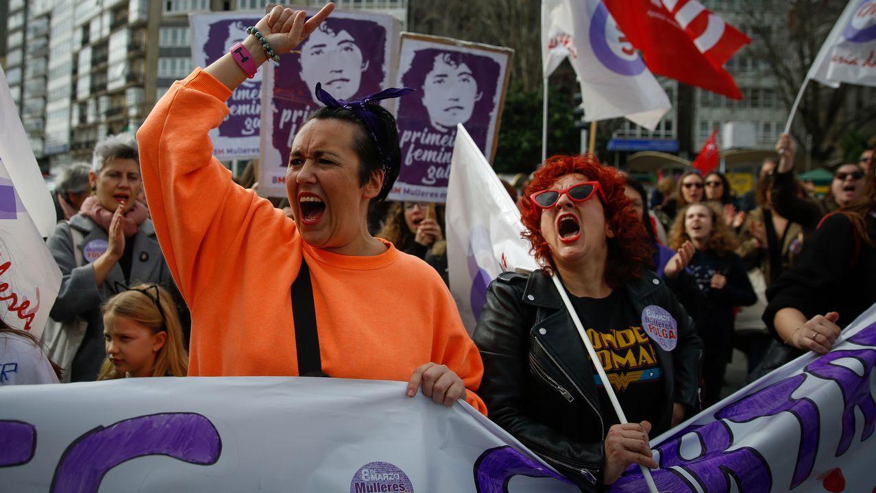 Manifestación día internacional de la mujer. manifestación 8M