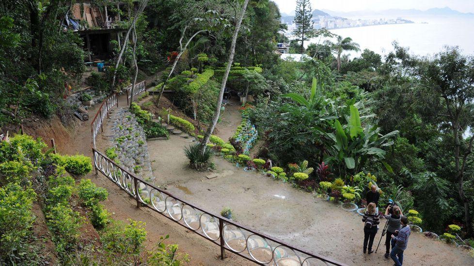 Así es el parque ecológico Sitiê, en Río de Janeiro.Concentración en defensa de la continuidad del Centro Cultural Niemeyer