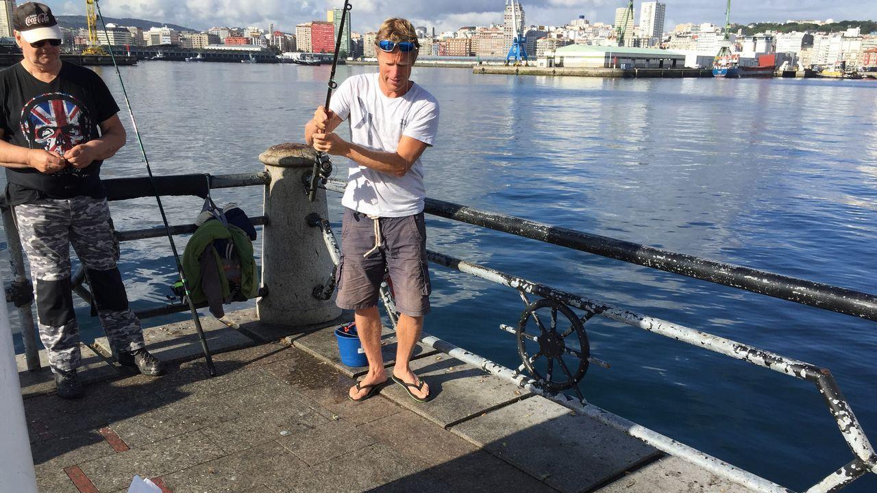 El Mein Schiff 3, atracado en A Coruña