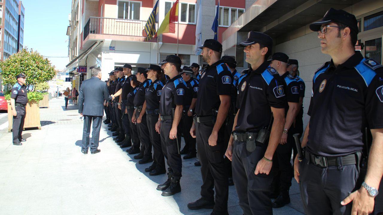 Pleno que nombró a Telmo Martín nuevo alcalde de Sanxenxo