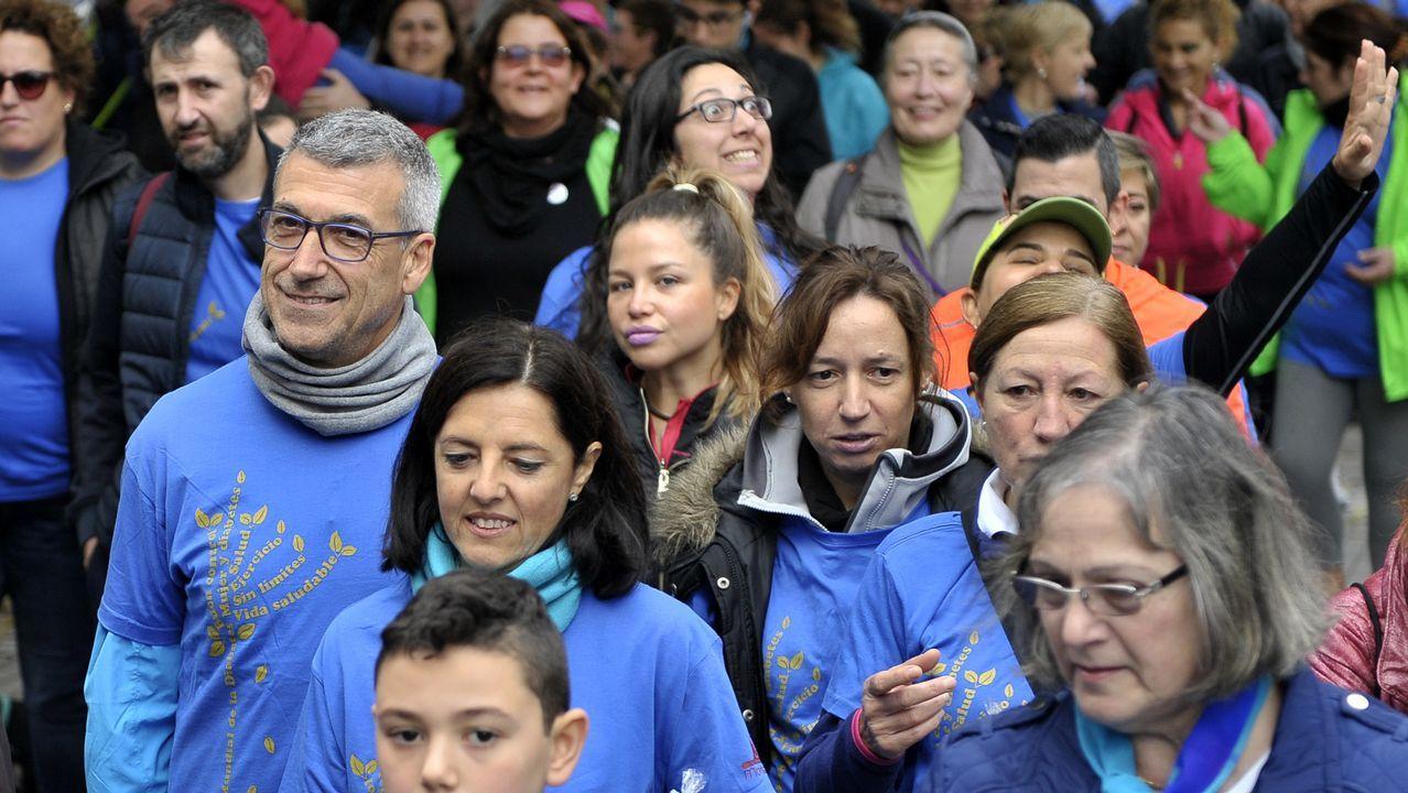 En el acto de presentación intervinieron Alfonso Rodríguez FIdalgo, presidente honorífico de la Alianza Contra el Hambre y la Malnutrición; Marisa Ponga, concejala de Igualdad; y Andrea Suárez, coautora de la guía