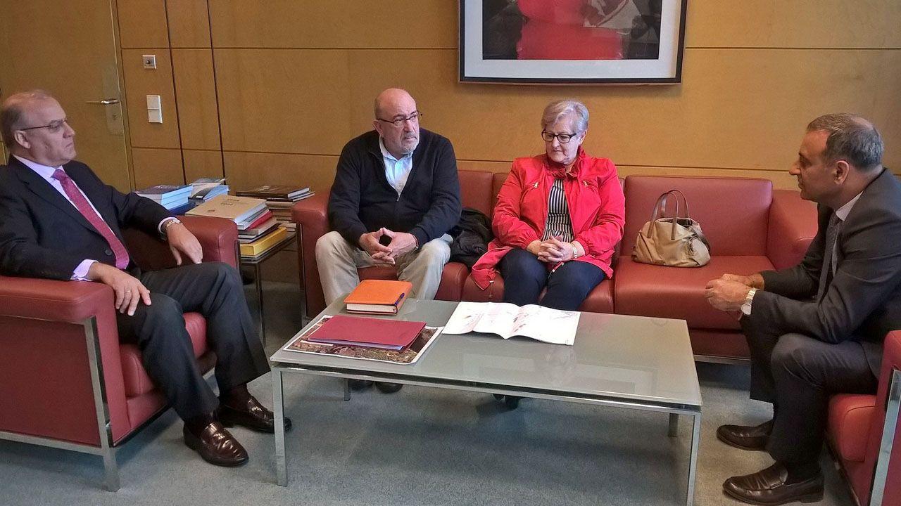 Reunión del Principado y los alcaldes