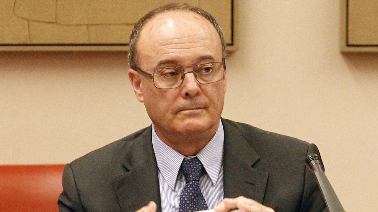 .Luis María Linde, gobernador del Banco de España