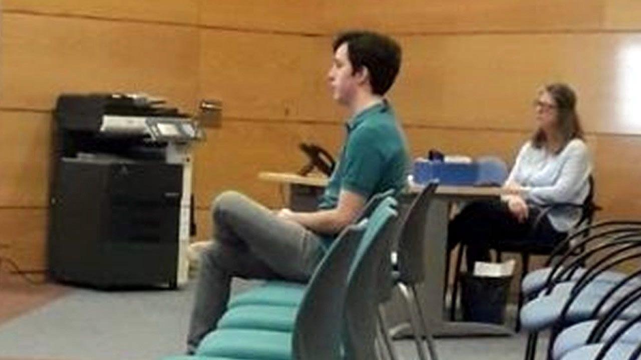 El pequeño Nicolás, declarando en el juzgado