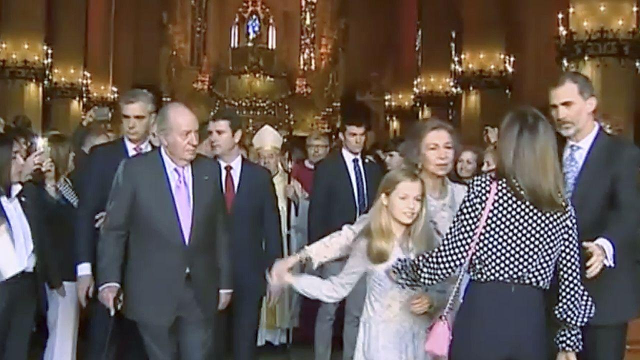 Así fue el rifirrafeentre las reinas Letizia y doña Sofía.Imagen de archivo de una yegua