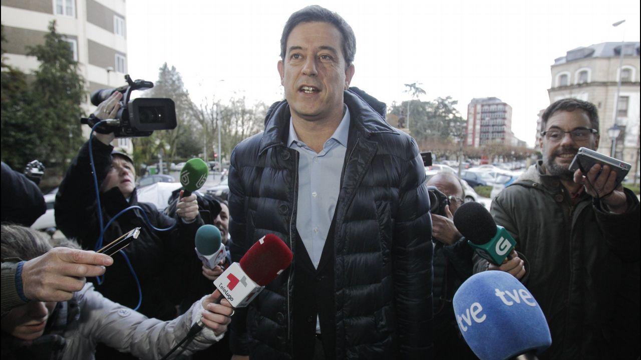 XOSÉ RAMÓN GÓMEZ BESTEIRO (ex secretario xeral del PSdeG y exconcejal en Lugo): Imputado por el caso Garañón, de cuando era edil en Lugo, pide sin éxito el sobreseimiento de una causa que le hizo dimitir en el 2016