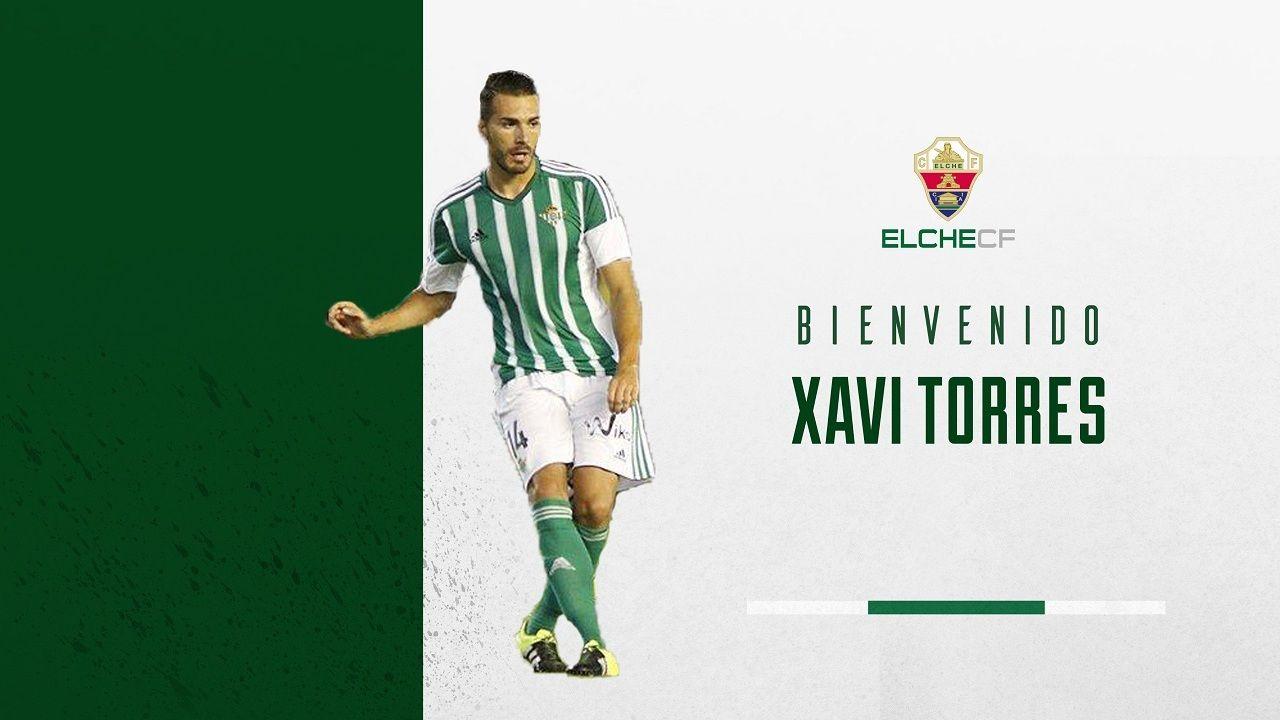 .Xavi Torres, nuevo jugador del Elche