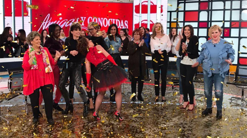 La última imagen de Paloma Gómez Borrero en televisión: Bailando «No controles»