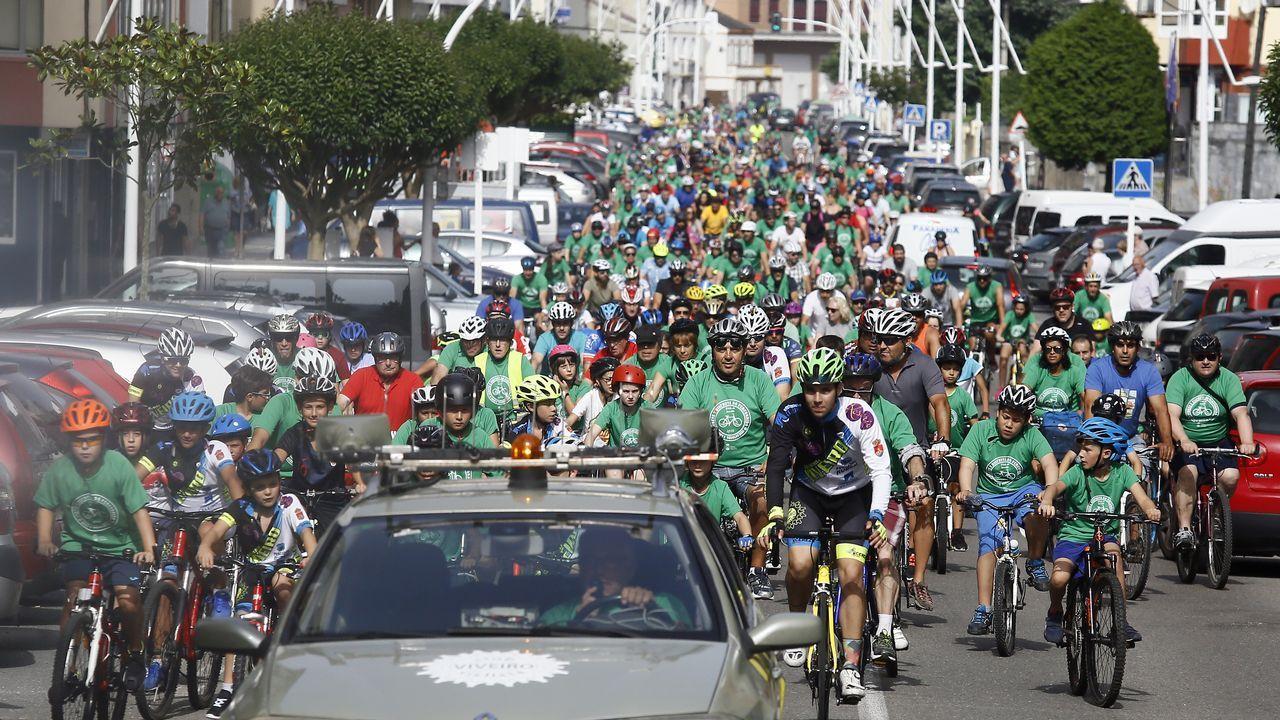 Día da Bicicleta en Viveiro