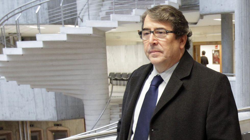Ultimátum del CSD a Villar.Villar, el pasado mes de julio en Vigo