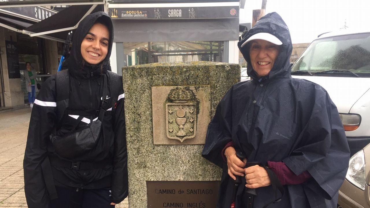 Asumpta vive en Sevilla y su hija Thais en Múnich; son madre e hija y estos días aprovechan las vacaciones de la segunda para recorrer el Camino Inglés.