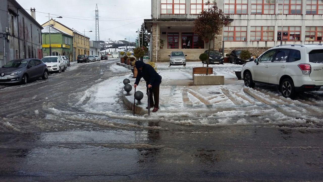 Nieve en Abadín