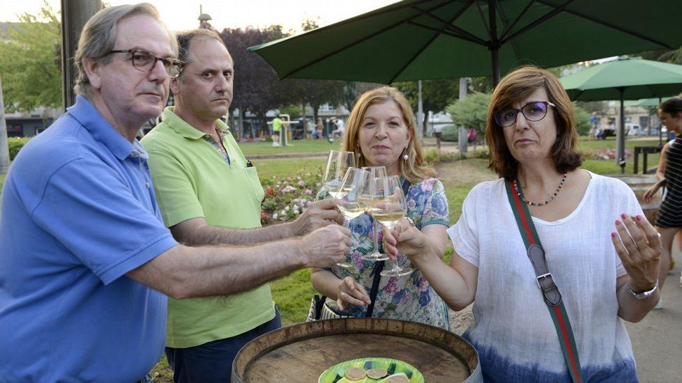 Monterrei presume de vino