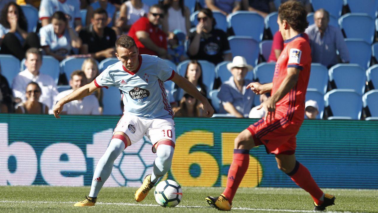 Celta 2 - Real Sociedad 3 (19 de agosto)