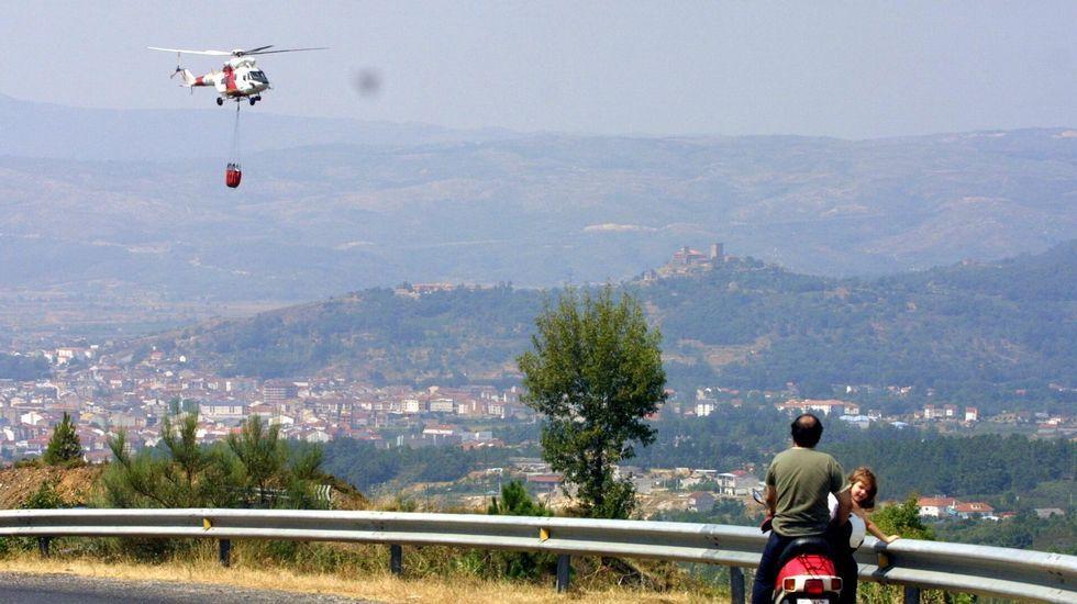 El accidente se produjo en las inmediaciones de Queirugás, en la comarca de Monterrei